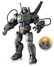DC Collectibles DC Comics Super Villains: Armored Suit Lex Luthor Deluxe Action Figure Figurines and Sets