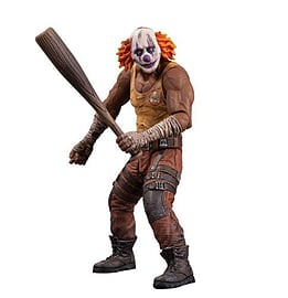 DC Direct Batman: Arkham City Series 3: Clown Thug With Bat Action Figure Figurines and Sets