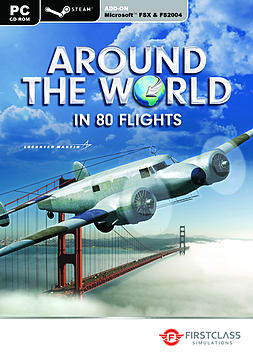 Around the World in 80 Flights (Flight Simulator X Add-On PC Games