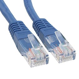 1m Cat 6 Patch Lead Blue PC