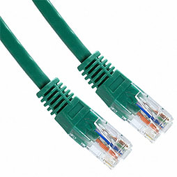 1m Cat 6 Patch Lead Green PC