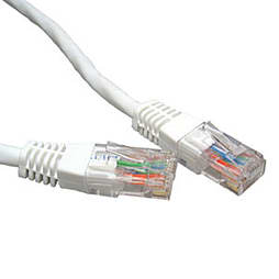 15m Cat 6 Patch Lead White PC