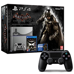 PlayStation 4 Limited Edition Batman Arkham Knight Console With Extra Dual Shock 4 PlayStation 4