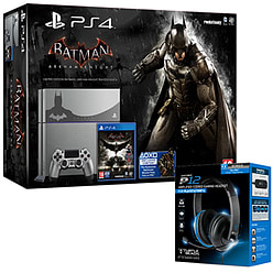 PlayStation 4 Limited Edition Batman Arkham Knight Console With Turtle Beach P12 Headset PS4