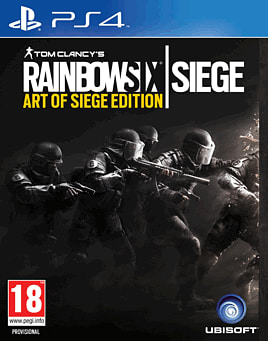 Tom Clancy's Rainbow Six: Siege - Art of Siege Edition PlayStation 4
