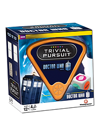 Doctor Who Trivial Pursuit Traditional Games