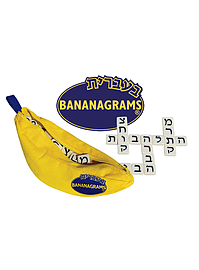 Bananagrams - Hebrew Edition Traditional Games