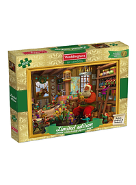 Waddingtons Christmas 1000 Piece Jigsaw Puzzle - 2014 Edition Traditional Games