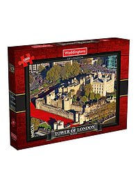 The Tower of London 1000 Piece Jigsaw Puzzle Traditional Games