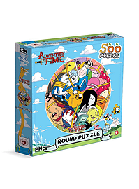 Adventure Time 500 Piece Jigsaw Puzzle Traditional Games