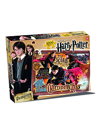 Harry Potter Quidditch 1000 Piece Jigsaw Puzzle Traditional Games