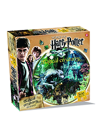 Harry Potter Magical Creatures 500 Piece Jigsaw Puzzle Traditional Games