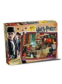 Harry Potter Hogwarts 1000 Piece Jigsaw Puzzle Traditional Games