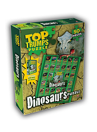 Top Trumps Dinosaurs Jigsaw Puzzle Traditional Games