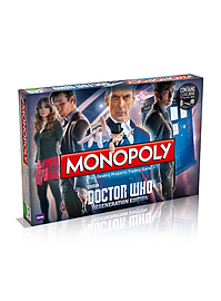 Monopoly - Doctor Who Regeneration Edition Traditional Games