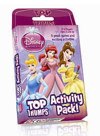 Top Trumps - Disney Princess Activity Pack Traditional Games