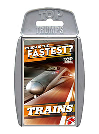 Top Trumps - Trains Traditional Games