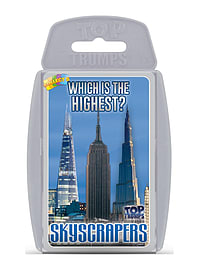 Top Trumps - Skyscrapers Traditional Games