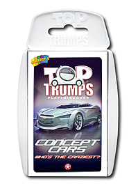Top Trumps - Concept Cars Traditional Games