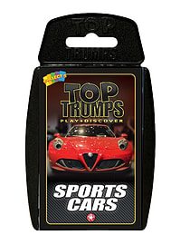Top Trumps - Sports Cars Traditional Games