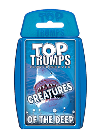 Top Trumps - Creatures of the Deep Traditional Games