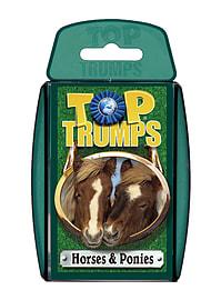 Top Trumps - Horses & Ponies Traditional Games