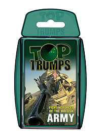 Top Trumps - British Army Traditional Games