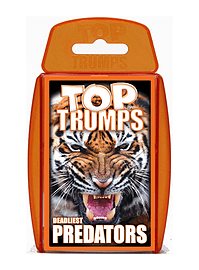Top Trumps - Deadliest Predators Traditional Games