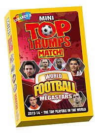 Mini Top Trumps - World Football MEGASTARS 2014 Traditional Games