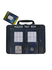 Top Trumps Doctor Who Tardis Collectors Tin Card Game Traditional Games
