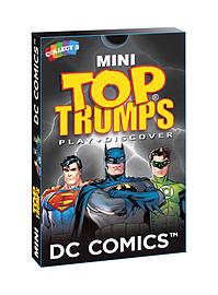 Mini Top Trumps - DC Comics Traditional Games