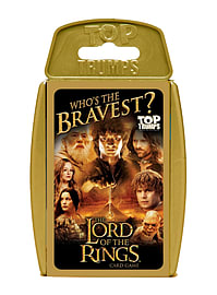 Top Trumps - The Lord of the Rings Traditional Games