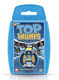 Top Trumps - Manchester City FC 2014/15 Traditional Games