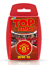 Top Trumps - Manchester United FC 2014/15 Traditional Games