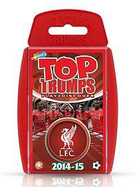Top Trumps - Liverpool FC 2014/15 Traditional Games
