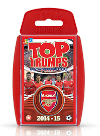 Top Trumps - Arsenal FC 2014/15 Traditional Games