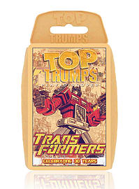 Top Trumps - Transformers Retro - Celebrating 30 years Traditional Games