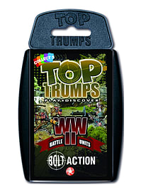 Top Trumps - Bolt Action WWII Battle Units Traditional Games