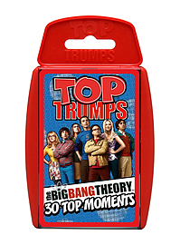 Top Trumps - The Big Bang Theory Traditional Games