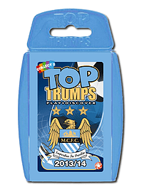 Top Trumps - Manchester City FC 2013/14 Traditional Games
