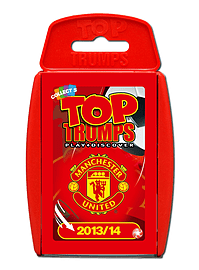 Top Trumps - Manchester United FC 2013/14 Traditional Games