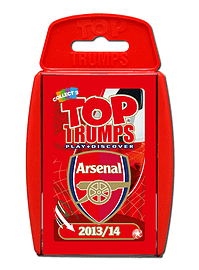 Top Trumps - Arsenal FC 2013/14 Traditional Games