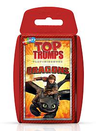 Top Trumps - Dragons Traditional Games