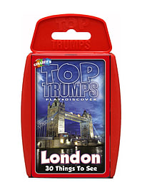 Top Trumps - London 30 Things To See Traditional Games