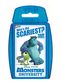 Top Trumps - Monsters University Traditional Games