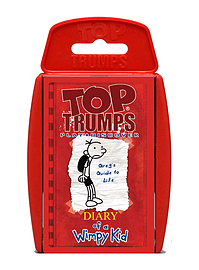 Top Trumps - Diary of a Wimpy Kid Traditional Games