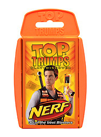 Top Trumps - Nerf Traditional Games