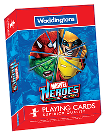 Marvel Heroes Playing Cards Traditional Games