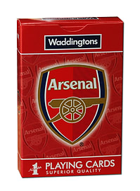 Arsenal FC Playing Cards Traditional Games