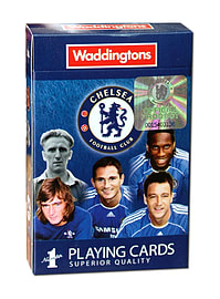 Chelsea FC Playing Cards Traditional Games